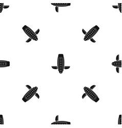 Balance vehicle pattern seamless black vector