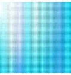 Blue digital square background vector image