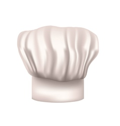 Chefs hat cut out vector