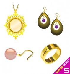 jewelry vector image