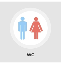 WC Icon vector image