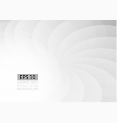 Gray wave and curve abstract background vector