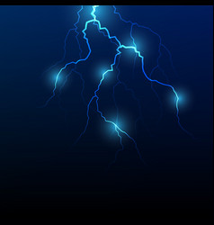 lightning flash strike background vector image