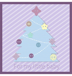 baby tree vector image