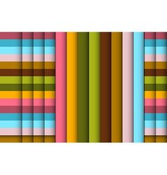 Abstract braided retro background vector