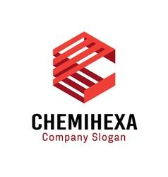 Chemihexa design vector