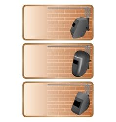 Electric welding vector image vector image