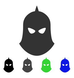 knight helmet flat icon vector image