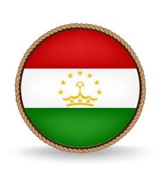 Tajikistan seal vector