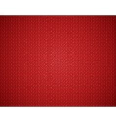 Christmas red background with knit texture vector