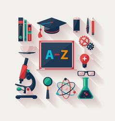 School supplies vector