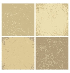 Collection of vintage backgrounds vector