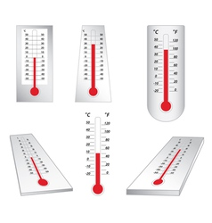 thermometers - set vector image