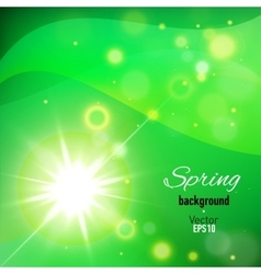 Abstract background for spring time vector