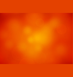Abstract blur red orange colored background vector
