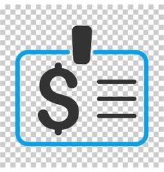Dollar Badge Icon vector image