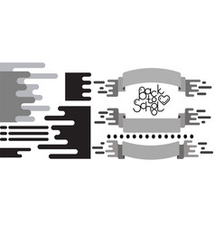 Flat design elemens set vector