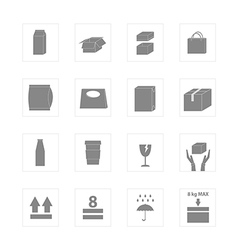 Icon Package vector image