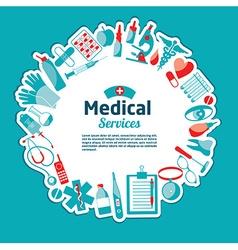 Medical of tools vector