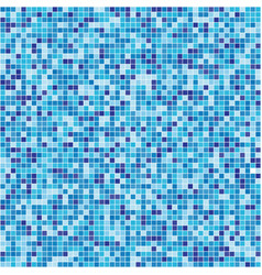 pattern blue tiles texture vector image