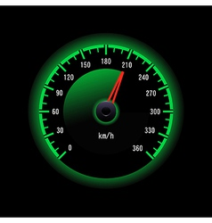 Speedometer design vector image