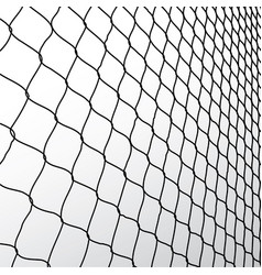 Wire fence vector image vector image