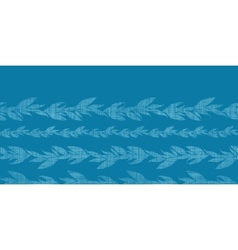 Blue vines stripes textile textured horizontal vector