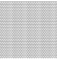 Seamless white brick wall vector