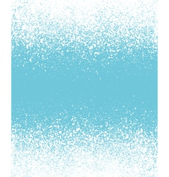 Blue graffiti effect winter gradient background vector