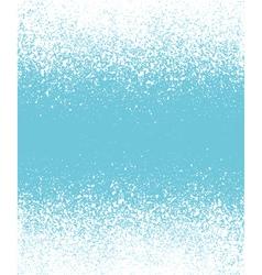 Blue graffiti effect winter gradient background vector