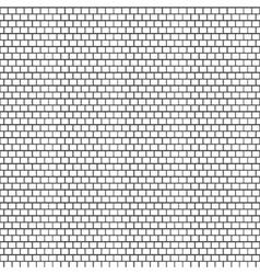 Seamless white brick wall vector