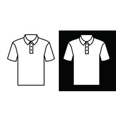 Tshirt icon vector