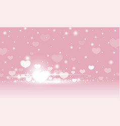 valentines day abstract background design vector image vector image