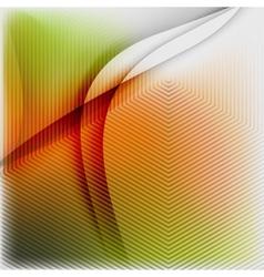 Textured blurred color wave background vector image