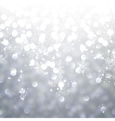 Silver textured background vector