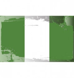 Nigeria national flag vector