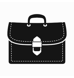Business briefcase icon simple style vector image vector image