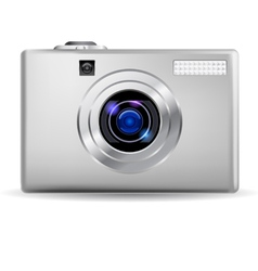 simple digital camera vector image