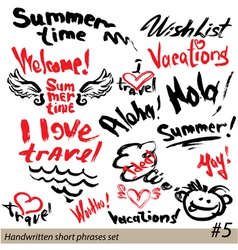 summer 380 vector image vector image