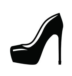 Womens shoe vector image vector image