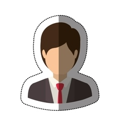 Isolated avatar man design vector