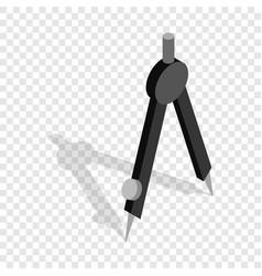 compass isometric icon vector image