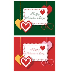 Envelope for valentine day vector