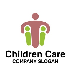 Children care design vector