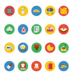 Food icons 15 vector