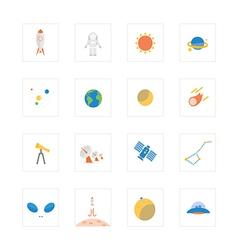 Icon spaceandastro vector