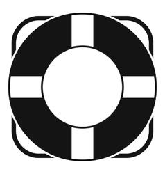 Lifeline icon simple style vector