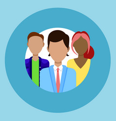 profile icon member society group avatar vector image