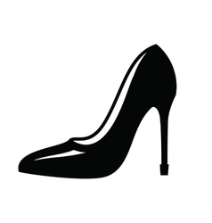 Womens shoe vector image vector image