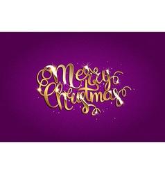 Merry christmas text vector